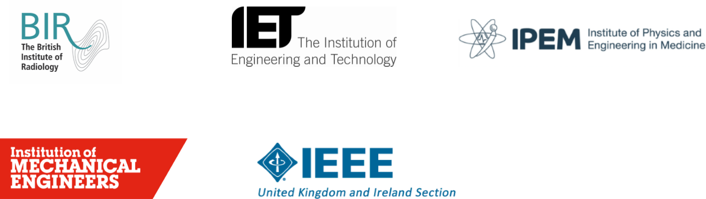 Making Sense of Radiation partner logos: BIR, IETm IPEM, IME, IEEE UK and Ireland