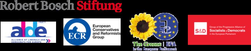 Robert Bosch Stiftung, alde, ECR, Greens | EFA, Socialists & Democrats